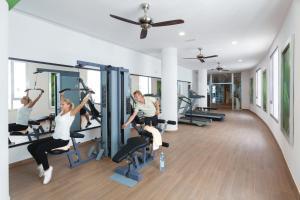 Salle ou équipements de sports de l'établissement Hotel Riu Palace Tenerife