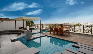 The swimming pool at or near Silks Place Yilan