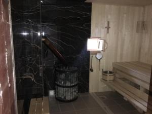Ванная комната в Hotel Rodina