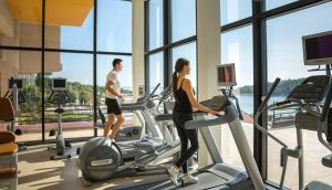 The fitness center and/or fitness facilities at Island Hotel Istra
