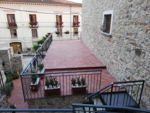A balcony or terrace at casa Marino