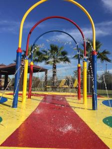 Children's play area at SureStay Plus by Best Western Orlando International Drive