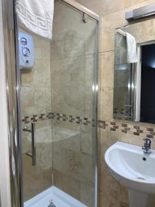 A bathroom at New Union