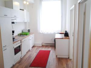 Küche/Küchenzeile in der Unterkunft Apartments Nürnberg