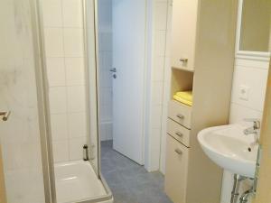 Ein Badezimmer in der Unterkunft Apartments Nürnberg
