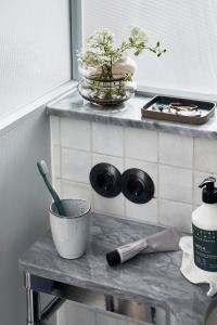 A bathroom at Villa Copenhagen