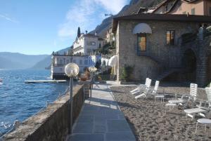 The swimming pool at or near Villa Belvedere Como Lake Relais