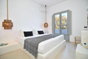 Cama o camas de una habitación en Aegeeis