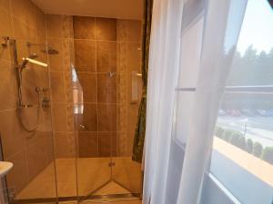 A bathroom at Hradná stráž Hotel&Apartments
