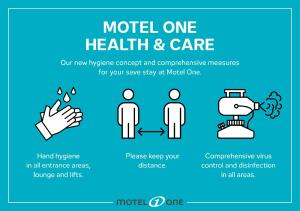The floor plan of Motel One Manchester-Royal Exchange