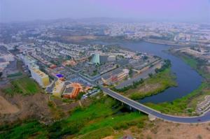 Uma vista aérea de مساكن الدر 5