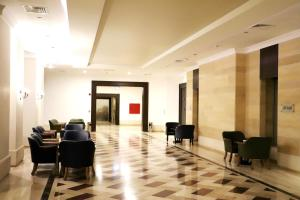 The lobby or reception area at Dead Sea Spa Hotel