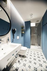 Ein Badezimmer in der Unterkunft Rixwell Hotel Konventa Seta