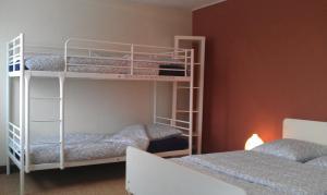 A bunk bed or bunk beds in a room at Gîte à Châtelus, au calme dans l'Allier