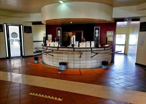 The lobby or reception area at Hotel Dom Fernando