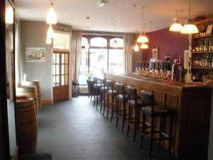 The lounge or bar area at The Cornerhouse