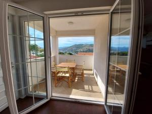 A balcony or terrace at Apartments Coral of Dubrovnik