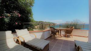 Een balkon of terras bij Hotel Costa Brava