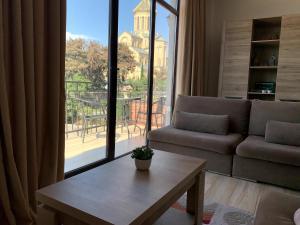 Гостиная зона в SaBa Apartments in Old Tbilisi