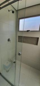 A bathroom at Hotel Fatima