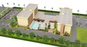 A bird's-eye view of Holiday Inn Orlando SW – Celebration Area, an IHG Hotel
