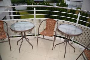 Balkon lub taras w obiekcie Apartament 40 Sun & Rain Villa Nord