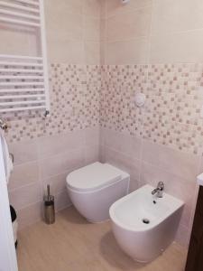 Um banheiro em Palazzo Lion Morosini