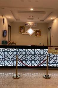O saguão ou recepção de Noor Grand