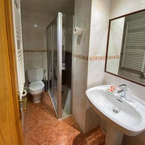 A bathroom at Hotel Casa Custodio