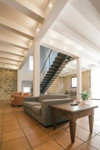 A seating area at La Albacara
