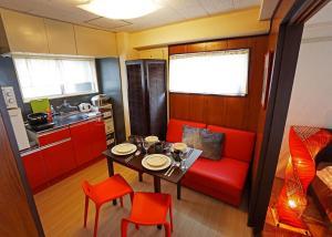 A kitchen or kitchenette at Yokohama Classic Apartment