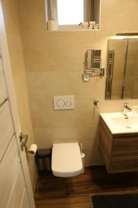 Kúpeľňa v ubytovaní Penzion Agrothermal