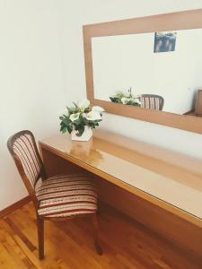 A seating area at Villa Beba - Apartments