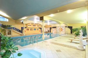 The swimming pool at or near TOP HOTEL Praha