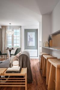 Um restaurante ou outro lugar para comer em My Oporto House