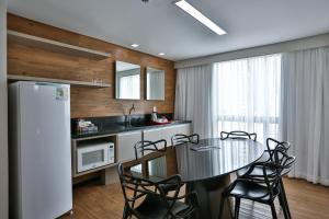 A kitchen or kitchenette at Ramada by Wyndham Recife Boa Viagem