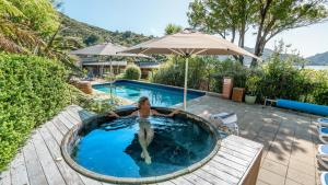 The swimming pool at or near Bay of Many Coves