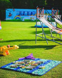 Children's play area at Radisson Collection Hotel, Xing Guo Shanghai