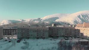 Апартаменты на Ленинградской зимой