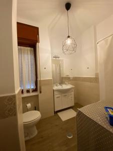 A bathroom at Corso Vittorio Emanuele Luxury house