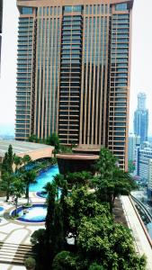 A view of the pool at Times Square Landmark Suite At Kuala Lumpur or nearby