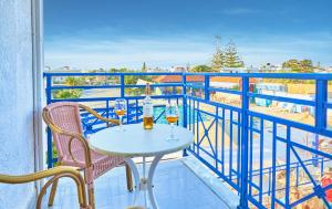 A balcony or terrace at Sergiani Garden Hotel Apartments