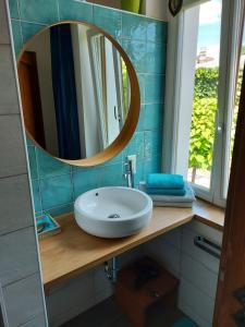 Ein Badezimmer in der Unterkunft Villa Veda