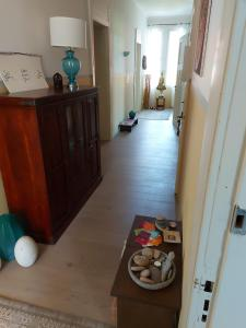 Lobby/Rezeption in der Unterkunft Villa Veda