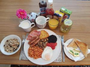 Breakfast options available to guests at Mayfair Hotel