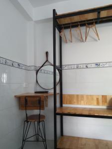 A bathroom at Gia Vinh