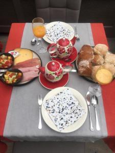 Ontbijt beschikbaar voor gasten van Break@Bruges