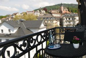 A balcony or terrace at Hotel Haus Reichert