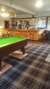 A pool table at Ord Arms Hotel