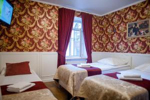 Кровать или кровати в номере Арт Авеню